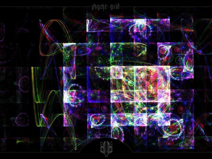 Psyche Grid    //Apophysis w/ post work in Photoshop