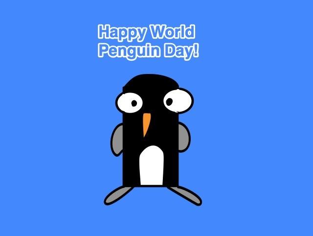 April 25 is World Penguin Day! Let's Celebrate!