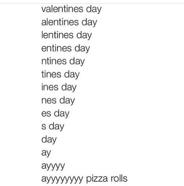 valentines day status message