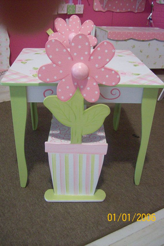 Childrens TABLE and CHAIR set any color   CUSTOM by spoiltrottn, $289.95