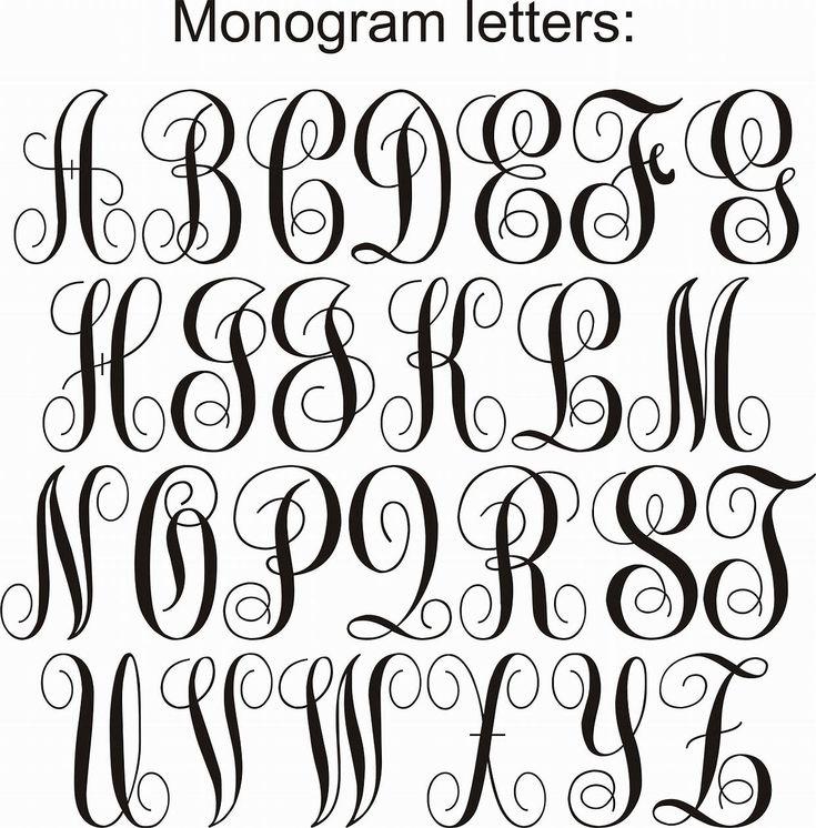 image result for free monogram fonts circle