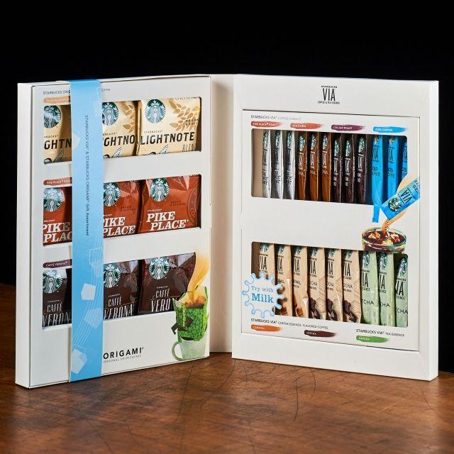 スターバックス コーヒー ジャパンのスターバックス ヴィア® & スターバックス オリガミ® サマー ギフト アソートについてご紹介します。