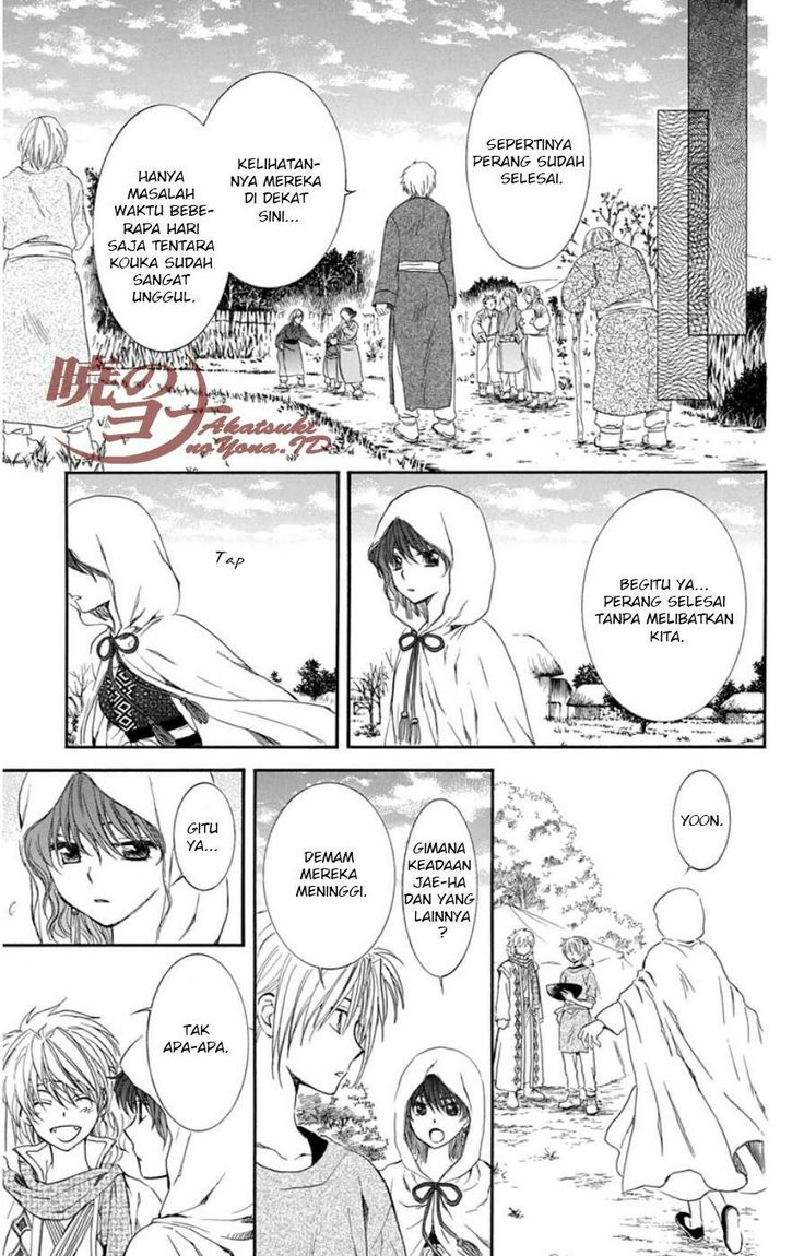 Manga Akatsuki No Yona Chapter 97 Bahasa Indonesia 16