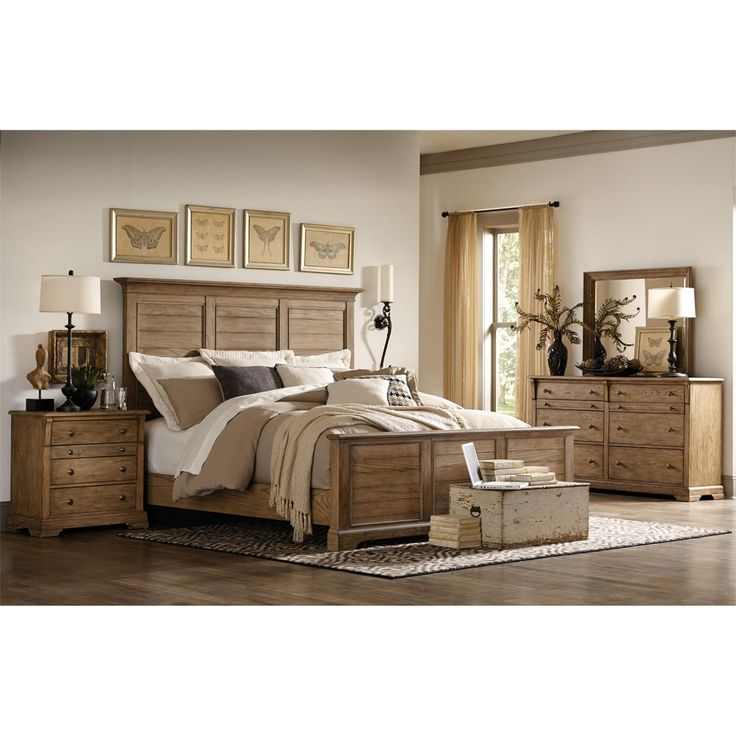 Riverside Furniture S Sherborne Wood Panel Bedroom Furniture Set By Humble Abode Made Of Hardwood And Beautiful