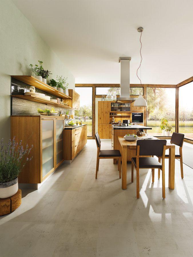 TEAM 7: Nature in the room - New collections at Imm Cologne 2014 #kitchen @TEAM 7 Natürlich Wohnen GmbH