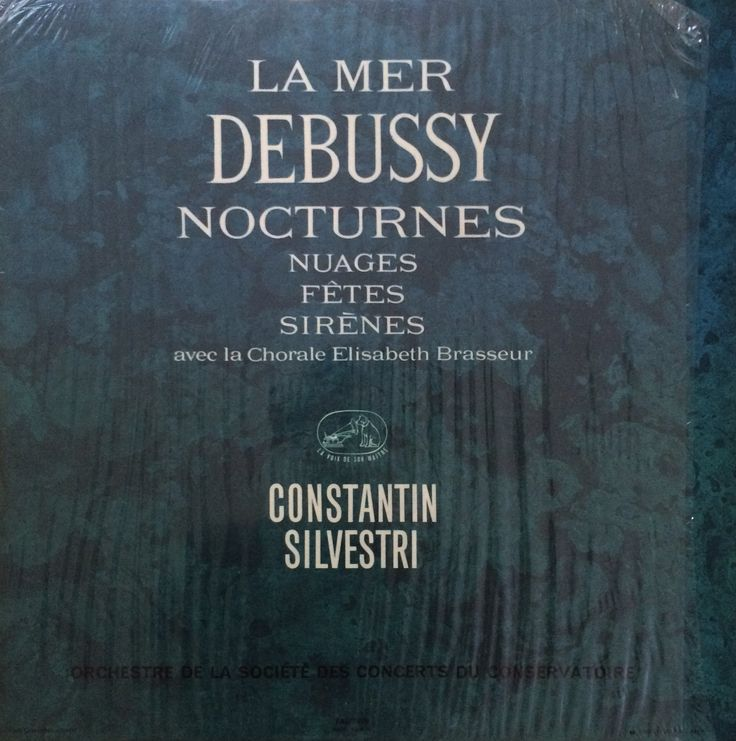 LA MER - DEBUSSY - Constantin Silvestri
