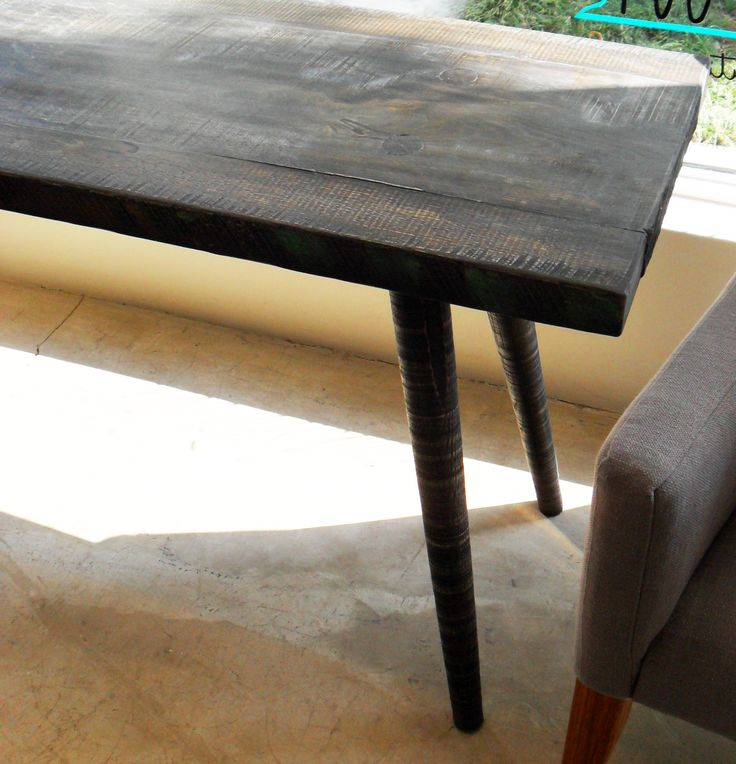 Dark Oak Console Table - W 1400mm x D 450mm x H 680mm - Inside Out Home Boutique - CLICK ON IMAGE TO VIEW MORE IMAGES