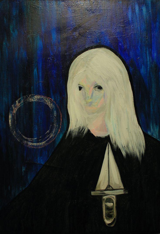 Gushtyuk Julia Acrylic on canvas  Cold aggression
