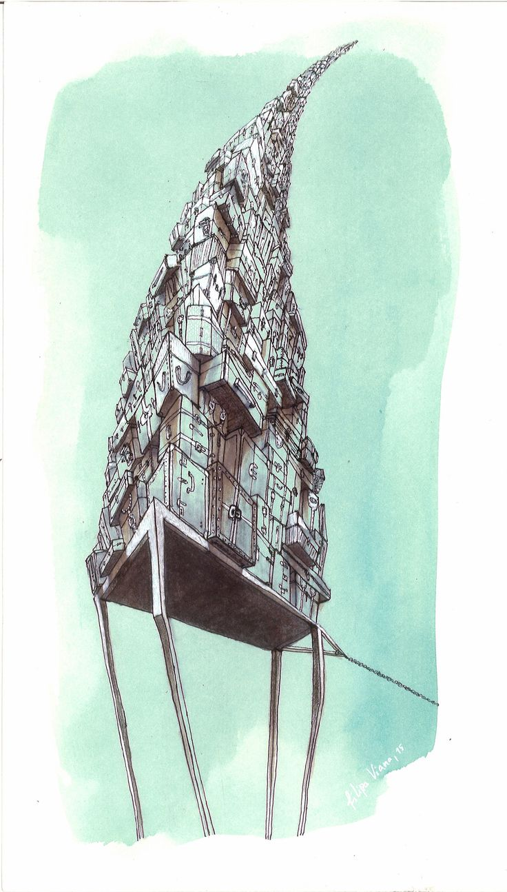 Without return, illustration, by Filipa Viana