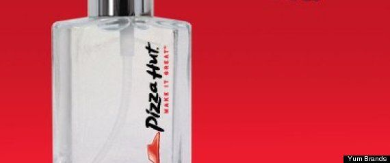 Pizza Hut is releasing a perfume. scent profile: the smell of a box pf Piza Hut pizza being opened..