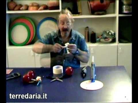 Arte Sonora TERREDARIA. Costruzione strumenti musicali per bambini: Pallocarina - YouTube