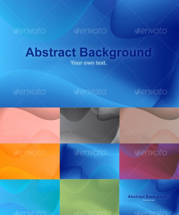 Multiple Abstract Background Pack (8 Different BGs)