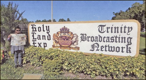 Pastor Hattie Harris of the Higher Ground House of Prayer, Reading, recently took a trip to Florida and received the Holy Land Experience in Orlando, but before taking the tour she took the time to read the Merchandiser.   Submitted by  Hattie Harris, Reading, PA.