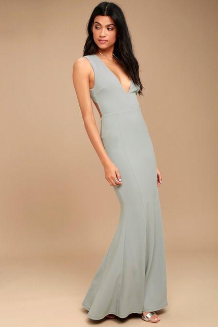 e6a74c464d7 Heaven and Earth Grey Maxi Dress