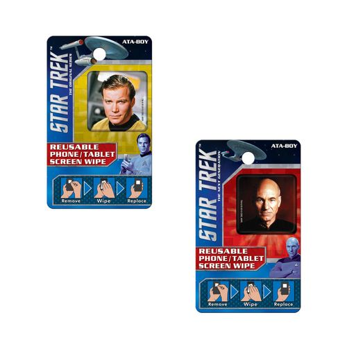 Star Trek Reusable Phone/Tablet Screen Wipes