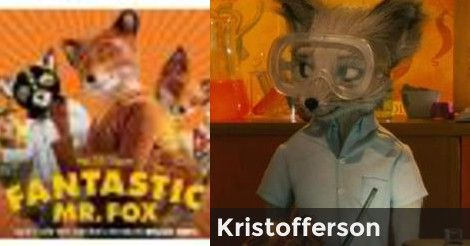 Kristofferson | What Fantastic Mr. Fox Character are you