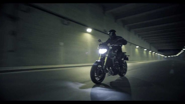 The NEW Yamaha MT-09 (official video Full HD) The Dark side of Japan