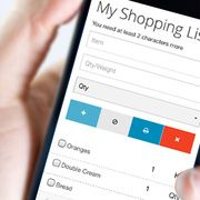 Shopping List with AngularJS, PHP and SQLite