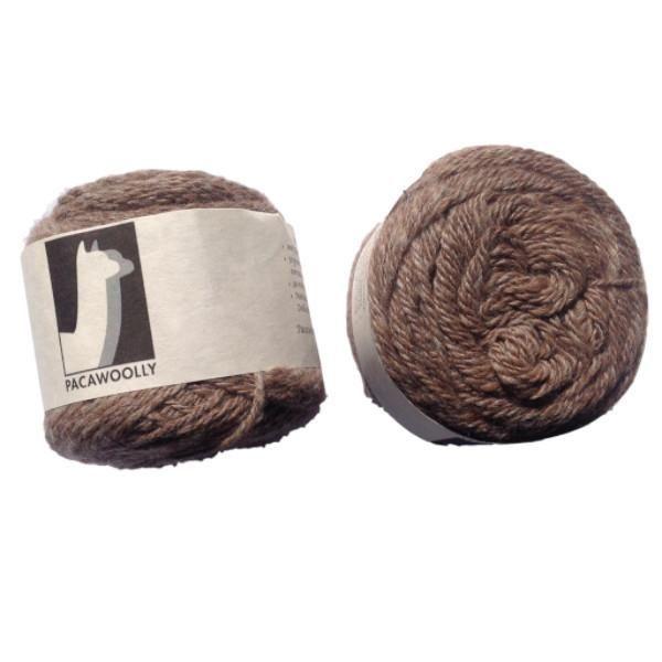 Pacawoolly Rose Grey, 100% Australian Alpaca, 8 ply, 50g - I Wool Knit - 1