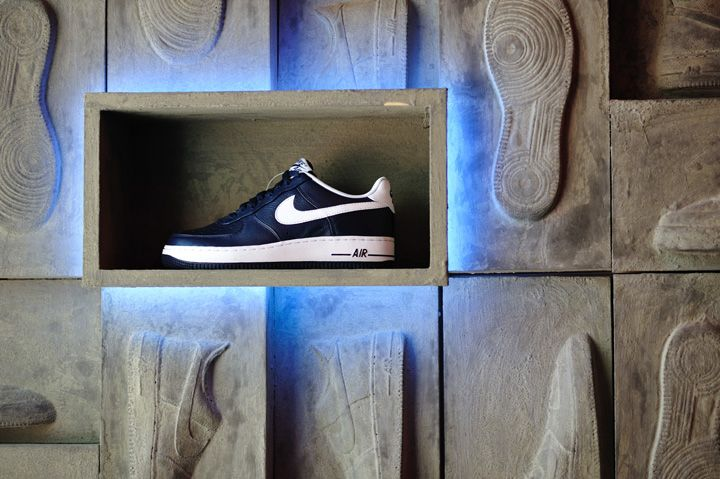 "Nike PS7 store ""Air Force 1"" promotion display by Studio ARRT, Hong Kong"