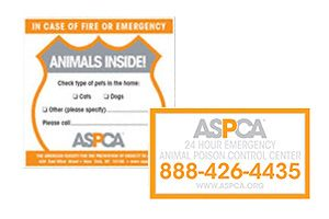 Did you know the ASPCA gives free Pet Safety Packs? Celebrate Pet Fire Safety Day by requesting one today!