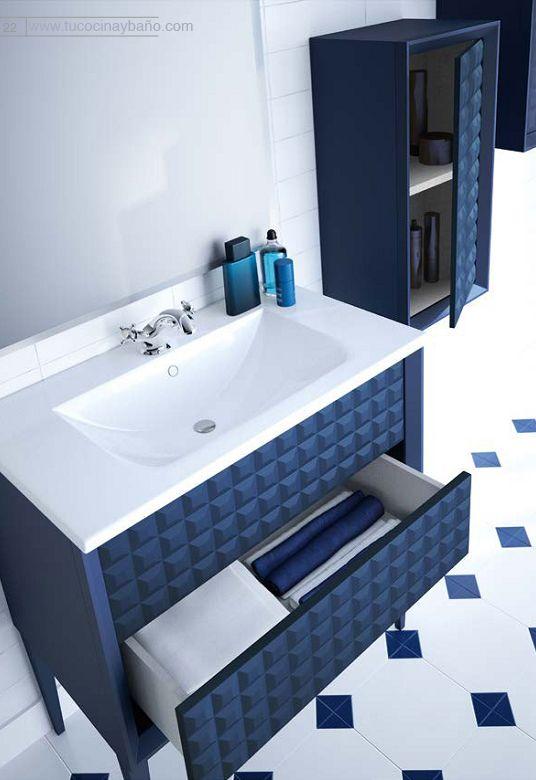 25 ideas destacadas sobre muebles de ba o en pinterest for Mueble mas lavabo