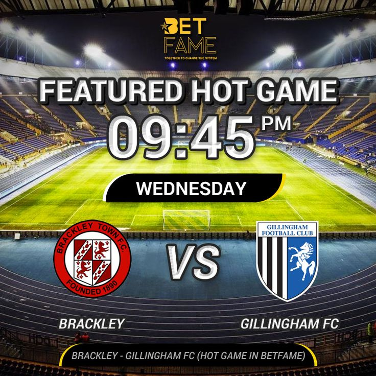 Brackley - Gillingham FC in England FA Cup. Featured game submitted tip by  BetFame Premium