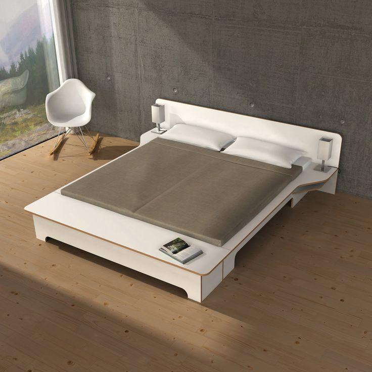 Müller Möbelwerkstätten   Plane Double Bed   Ambience | Bedroom. |  Pinterest | Double Beds And Bedrooms