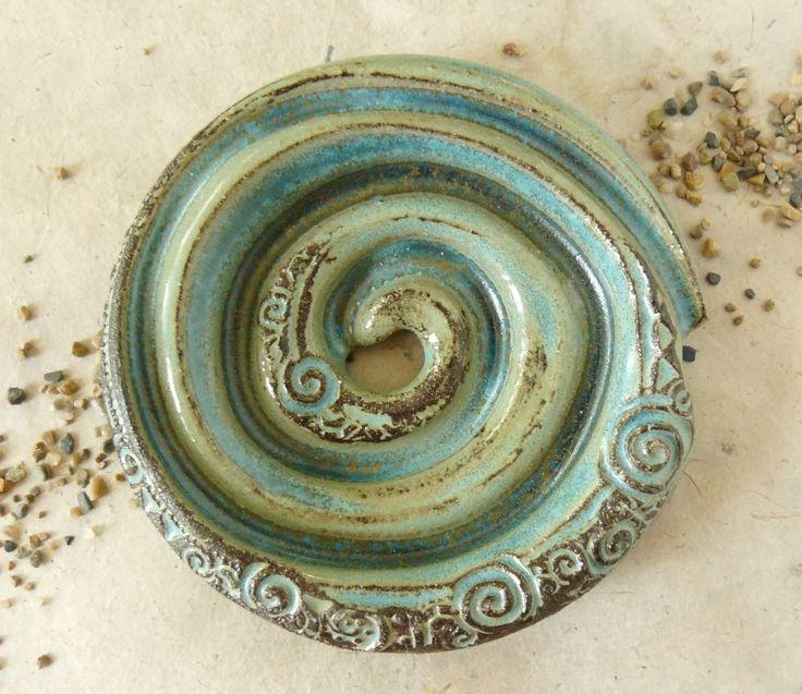 Seifenschale aus Ton   Silkeramik