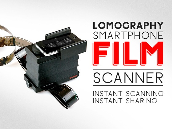 VIDEO: The Lomography Smartphone Film Scanner //