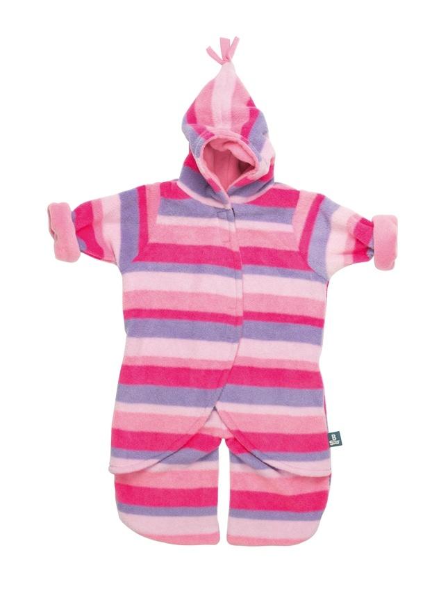 Pink Stripe Fleece Babysnuggle
