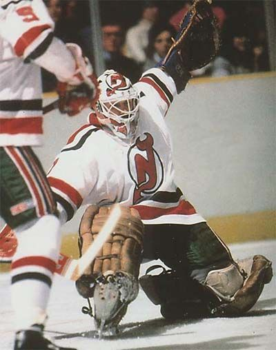 Glenn Chico Resch, New Jersey Devils-NHL Team.