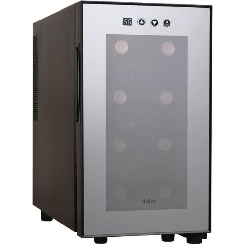 $79.00 Haier HVTM08ABS 8-Bottle Wine Cellar with Electronic Controls - See More Wine Coolers Refrigerators at http://www.zbuys.com/level.php?node=5667=wine-coolers-refrigerators