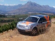 New winelands 4x4 experience at Simonsig