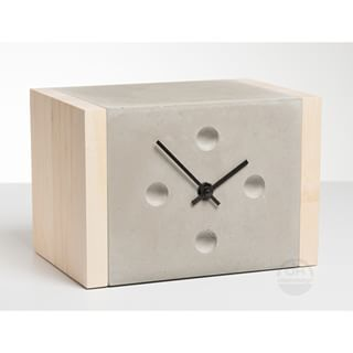 U0027betonuhr Table Clocku0027 By German Designer Dirk Krähmer