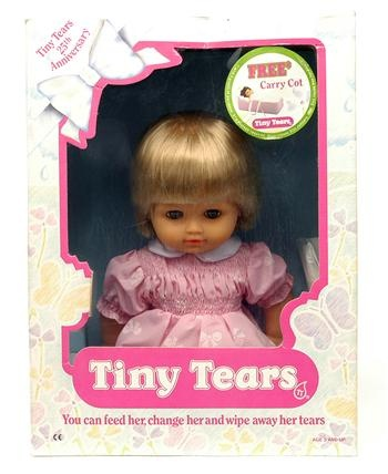 "Tiny Tears doll, I loved mine when I was a little girl. My sister ""lost"" quite a few !!!!"