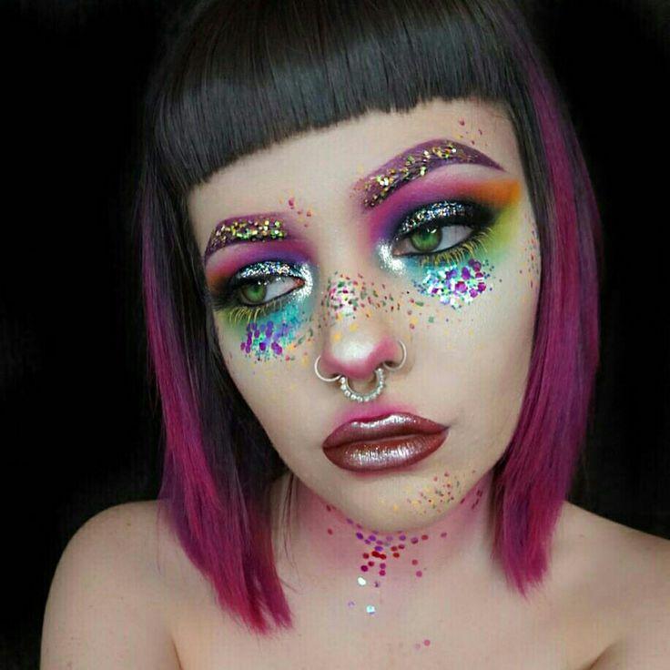 17 Best Ideas About Crazy Eye Makeup On Pinterest