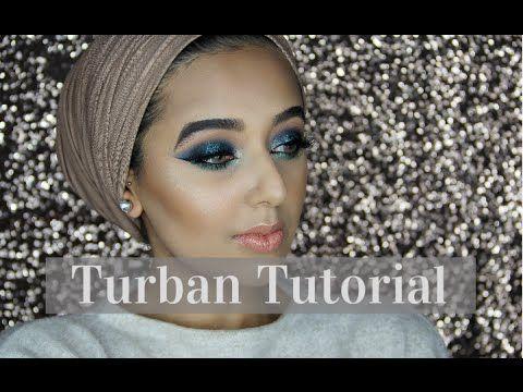 EASY & SIMPLE TURBAN TUTORIAL - NO PINS! | Annam Ahmad - YouTube