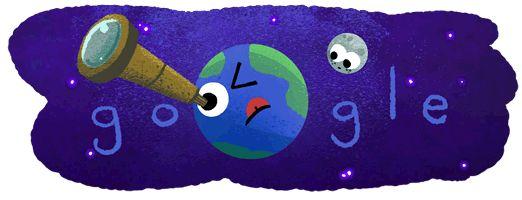 Seven Earth-sized exoplanets discovered! #GoogleDoodle https://g.co/doodle/ybt9k4