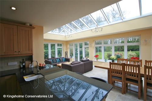 Completed Orangery Kitchen Extension Sue Remodel