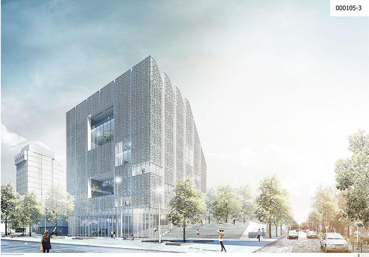 Library of Varna  Project by: Atelier Lorentzen Langkilde ApS, Denmark