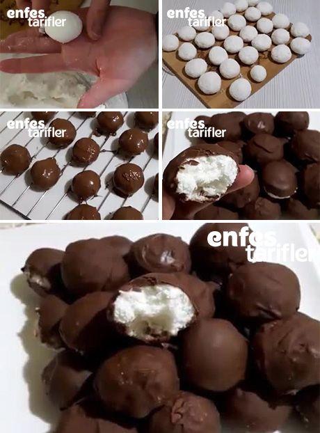 Çikolatalı Beyaz Rüya Tarifi