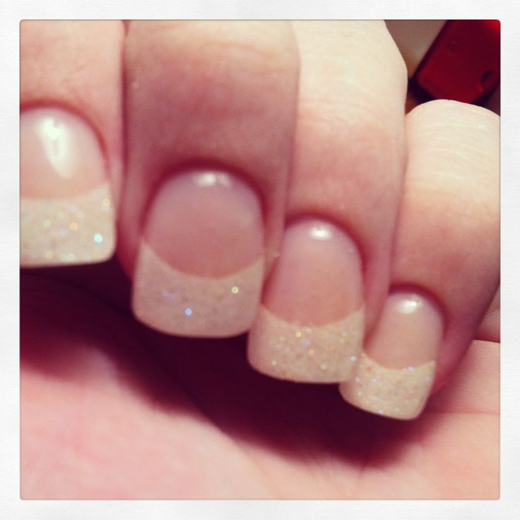 Half Well Nail Tips: 1000+ Ideas About French Tip Acrylics On Pinterest