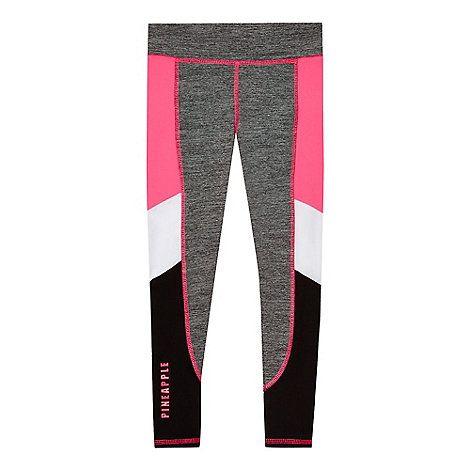 Pineapple Girls' grey melange leggings | Debenhams