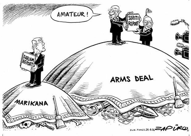 Arms Deal cover-up