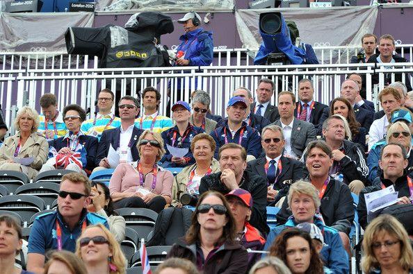 Royal family at the Olympics