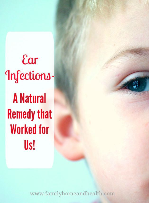 I love natural remedies because they are usually safer, healthier, and cheaper.  This natural ear infection remedy worked well for us!   This remedy can also help reduce the pain of an ear  infection!