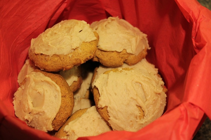 Maple-Frosted Pumpkin Spice Cookies | Fun with Food | Pinterest