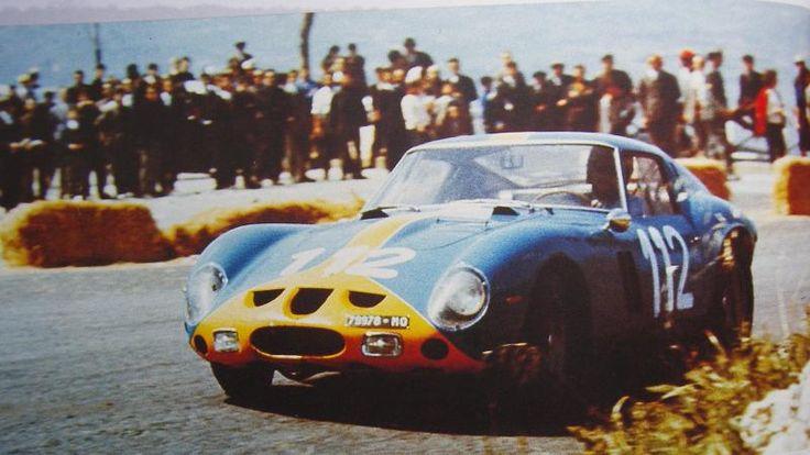 Ulf Norinder / Picko Troberg, Ferrari 250 GTO, Targa Florio, 1964.
