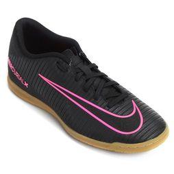 Chuteira Nike Mercurial Vortex 3 IC Futsal - Preto